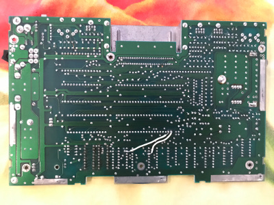 Commodore 116 back motherboard
